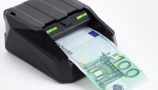 détecteur automatique de faux billets