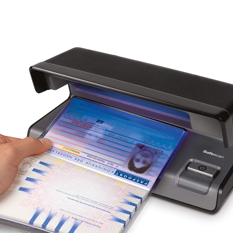 Olympia UV 585 contr/ôle lauthenticit/é de billets avec lampe UV D/étecteur de faux billets